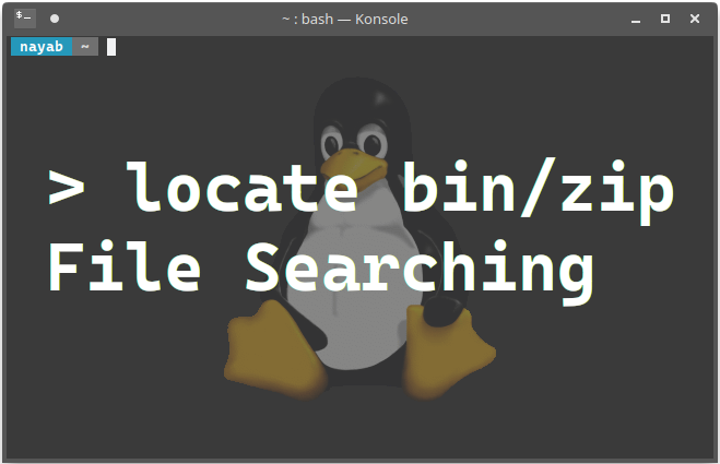 File Searching in Linux